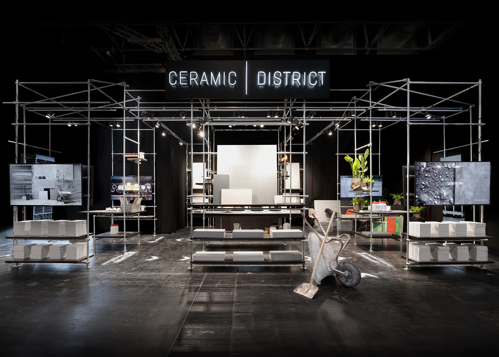 Messestand Ceramic District