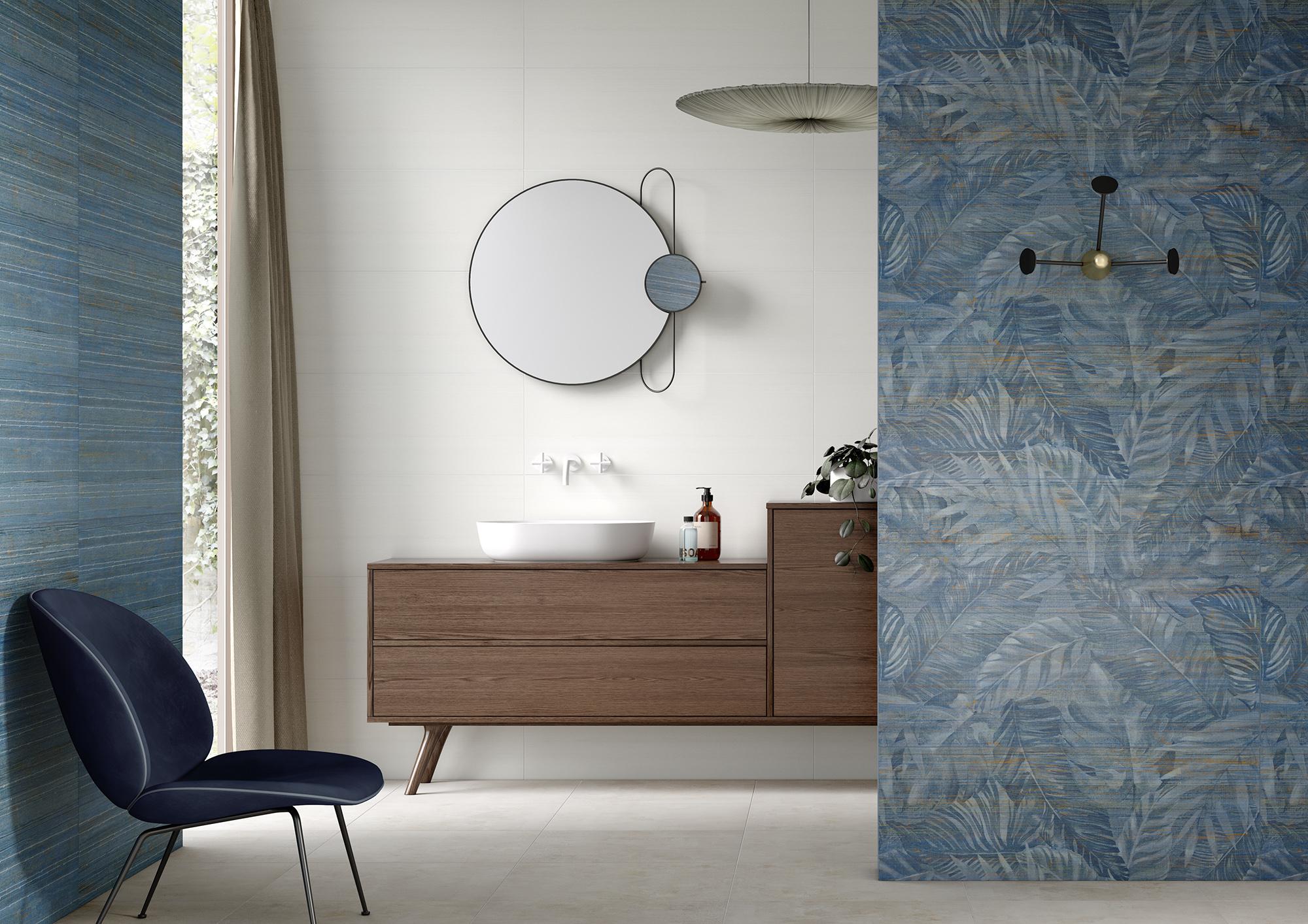 Wonderwall #6MM blue moon und jungle - Ceramic District