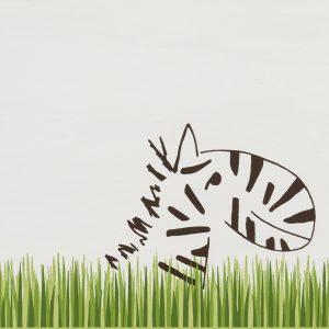 Louis & Ella 2.0 Graskante Zebra- Ceramic District