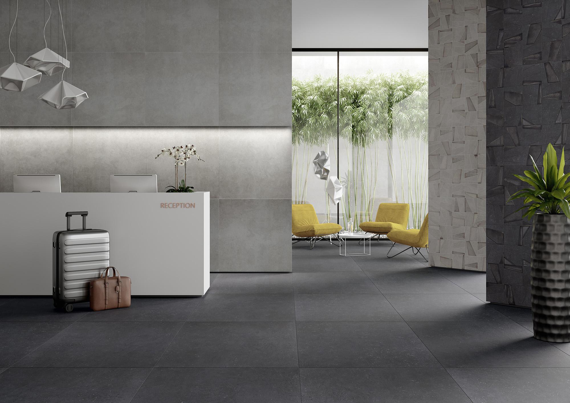 Flanders graphit Ambiente - Ceramic District