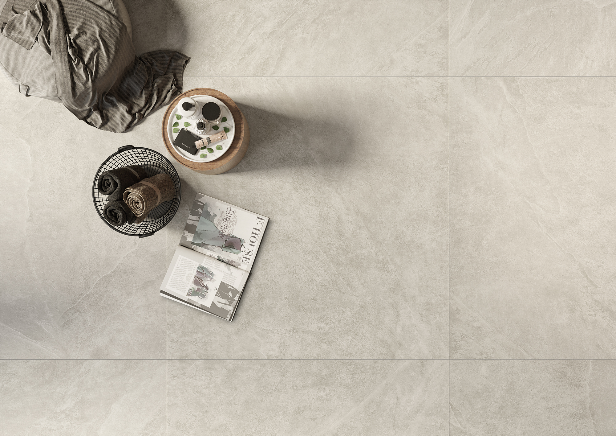 Kalmit #6MM zement - Ceramic District