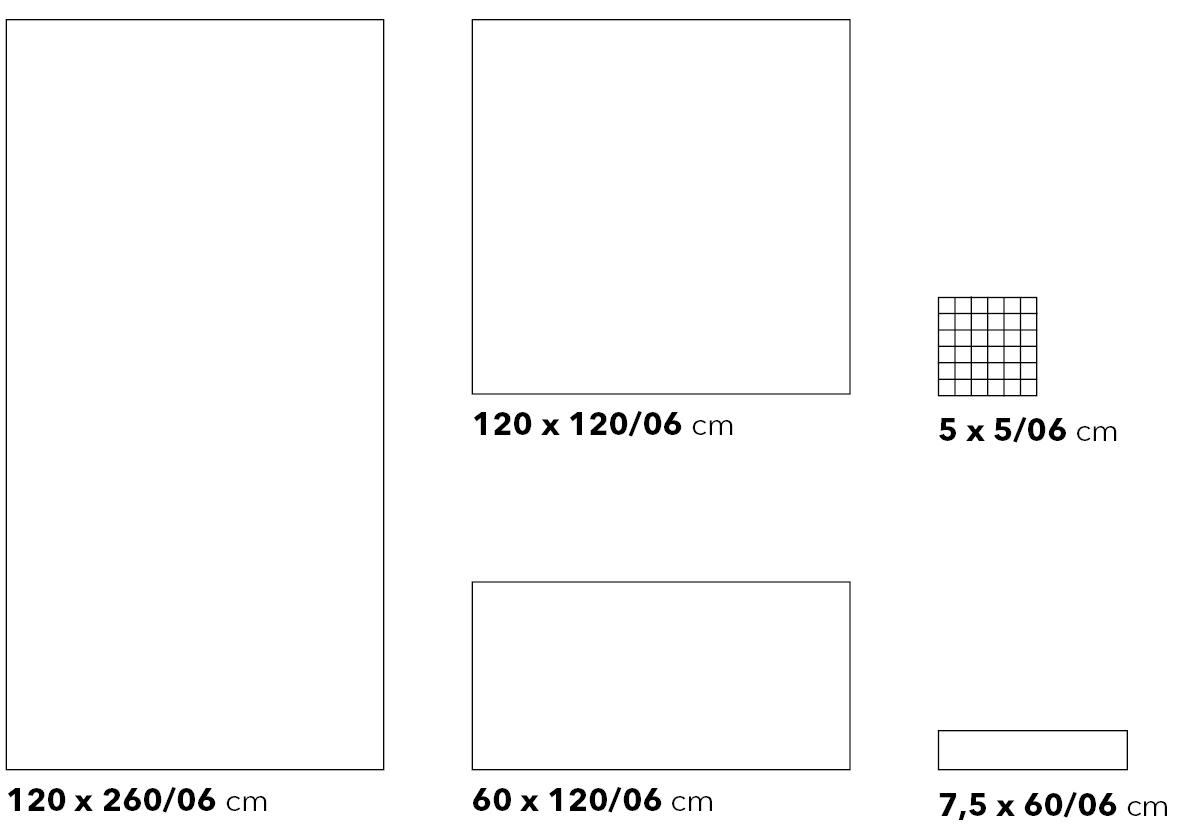 Kollektion_M #6MM Formatübersicht - Ceramic District