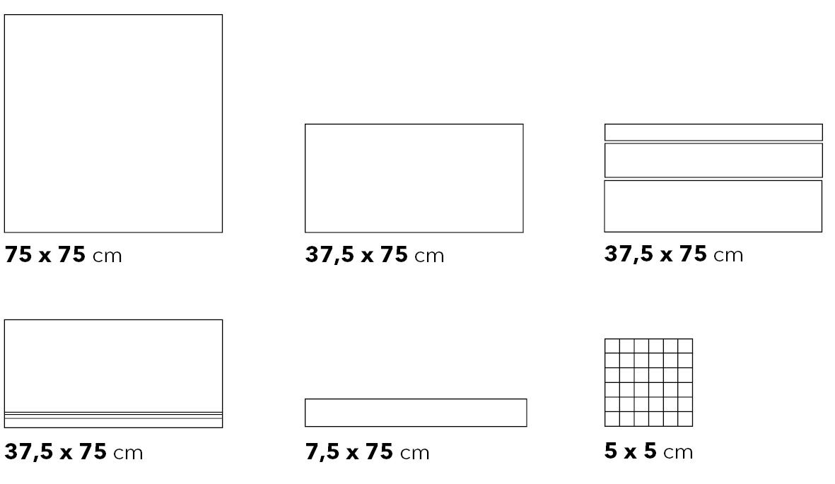 Steinwerk Formatübersicht - Ceramic District