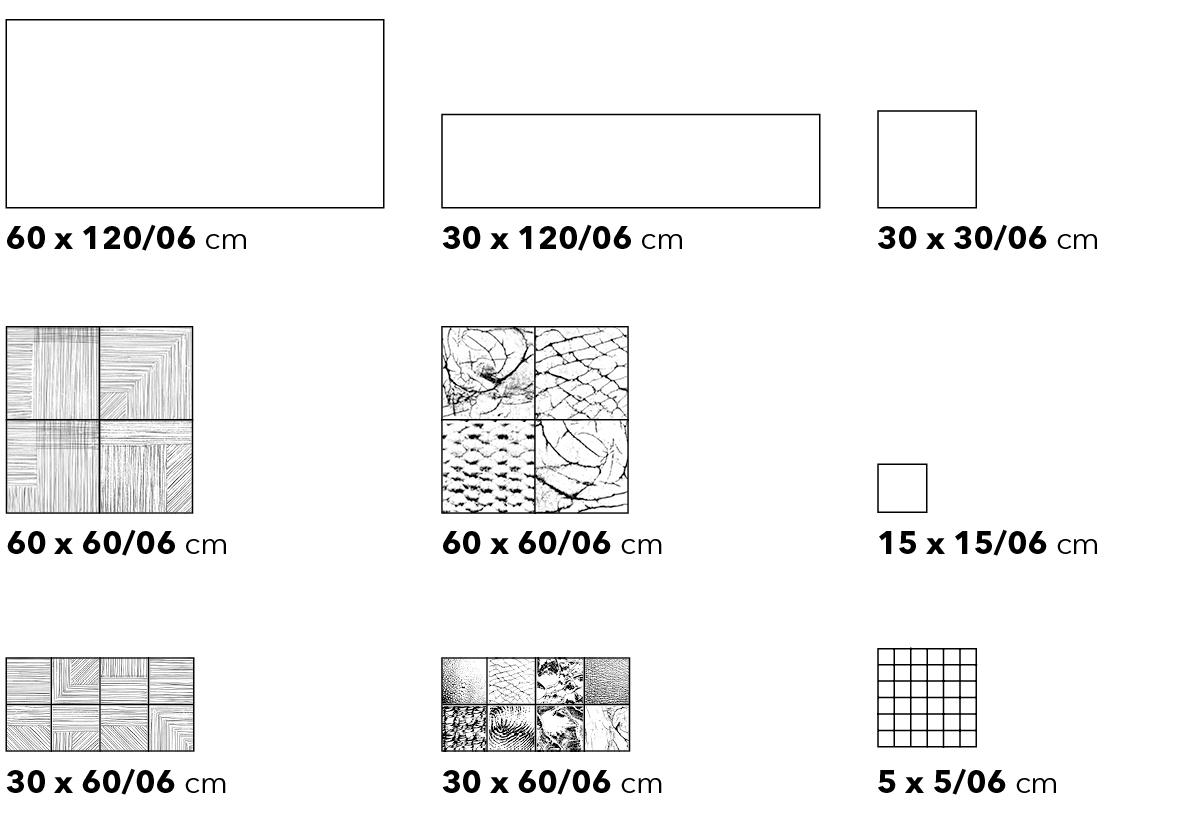 Thinsation Formatübersicht - Ceramic District