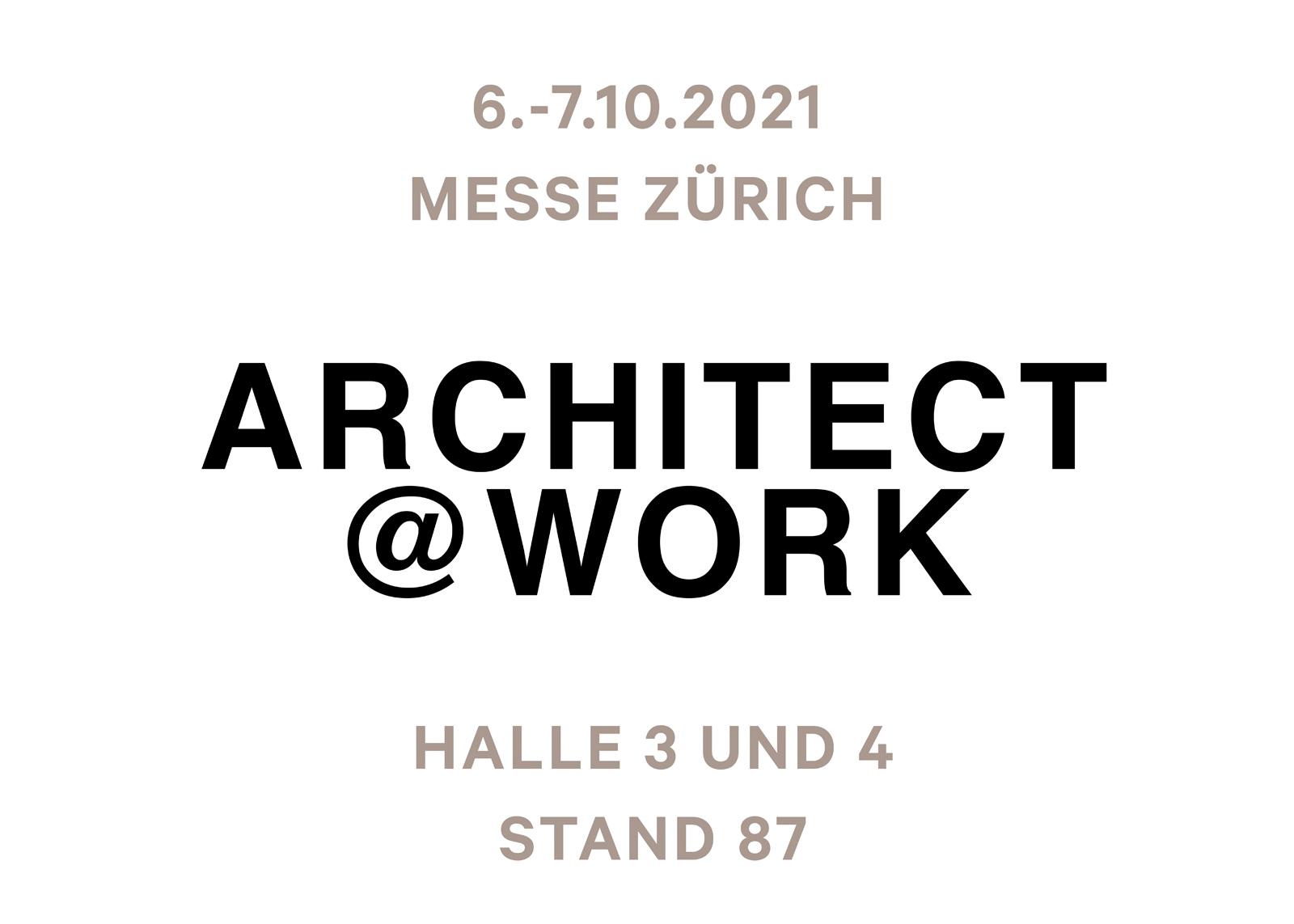 Architekt@Work Zürich 2021 - Ceramic District
